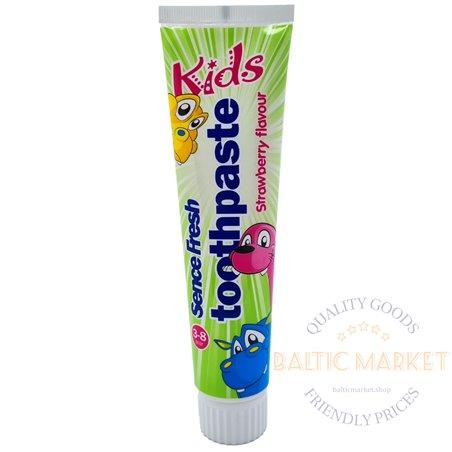Sence Fresh зубная паста детская со вкусом клубники 125 мл