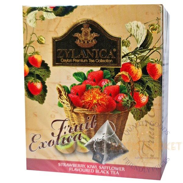 Zylanica black tea with raspberry, blueberry and safflower aroma, 2 g x 20 tea bags