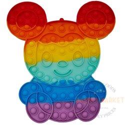 POP IT anti-stress toy bear