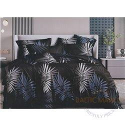 Cotton satin bed linen complex 200x220, 4 parts (CT185)