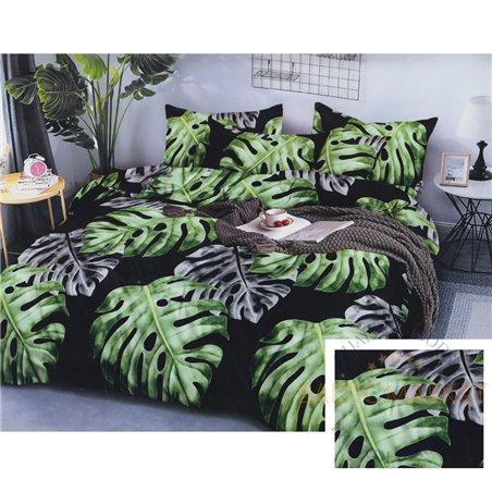 Cotton satin bed linen complex 160x200, 4 parts (CT195)