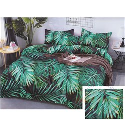 Cotton satin bed linen complex 160x200, 4 parts (CT196)