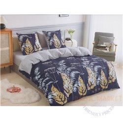Cotton satin bed linen complex 160x200, 3 parts (CT180)