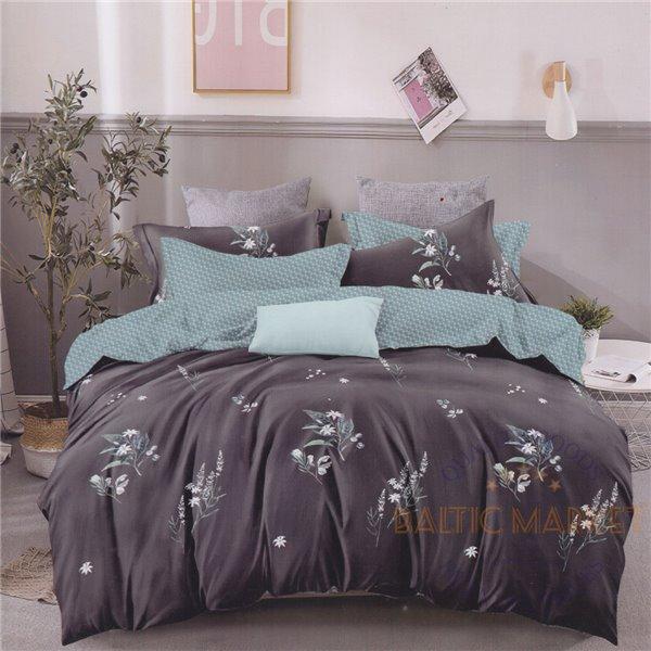 Комплект постельного белья хлопок сатин 160х200, 3 части (CT181)
