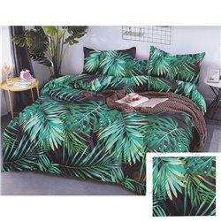 Cotton satin bed linen complex 200x220, 3 parts (CT175)