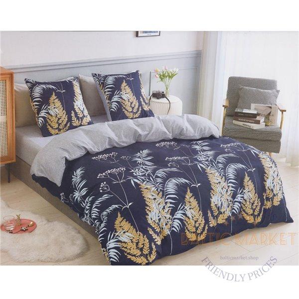 Cotton satin bed linen complex 200x220, 3 parts (CT176)