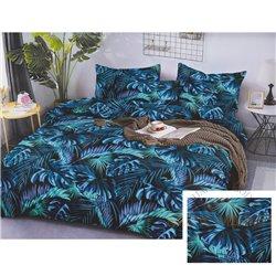 Cotton satin bed linen complex 200x220, 3 parts (CT177)