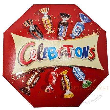 Celebrations konfešu izlase 186 gr.