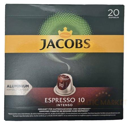 JACOBS ESPRESSO 10 INTENSO 20 kapsulas
