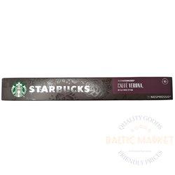 STARBUCKS CAFFE VERONA RISTRETTO by NESPRESSO 10 капсулы
