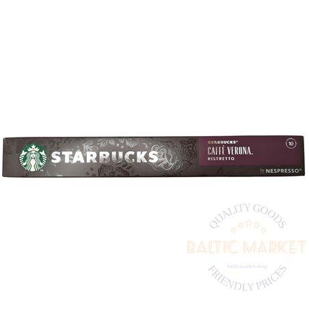 STARBUCKS CAFFE VERONA RISTRETTO by NESPRESSO 10 capsules