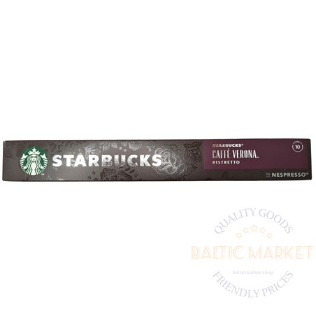 STARBUCKS CAFFE VERONA RISTRETTO by NESPRESSO 10 kapslid