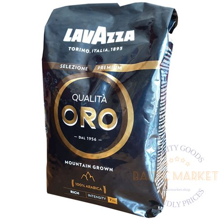 Lavazza Qualita ORO mountain grown coffee beans 1 kg