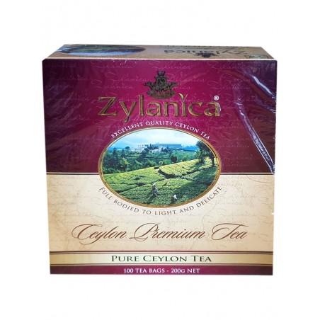 Zylanica žalioji arbata 100 * 2g arbatos maišeliai