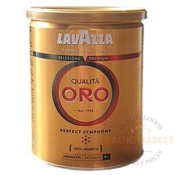 Lavazza Qualita ORO perfect symphony ground coffee metal can 250 gr