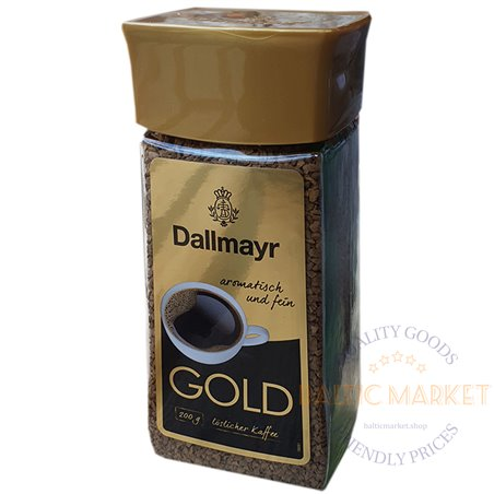 Dallmayr šķīstoša kafija 200 gr