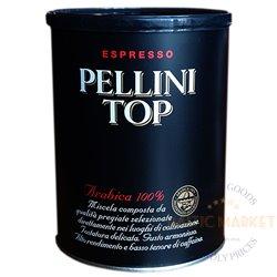 Pellini TOP jahvatatud kohv 250 gr