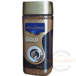 Movenpick Gold intense šķīstoša kafija 100 gr
