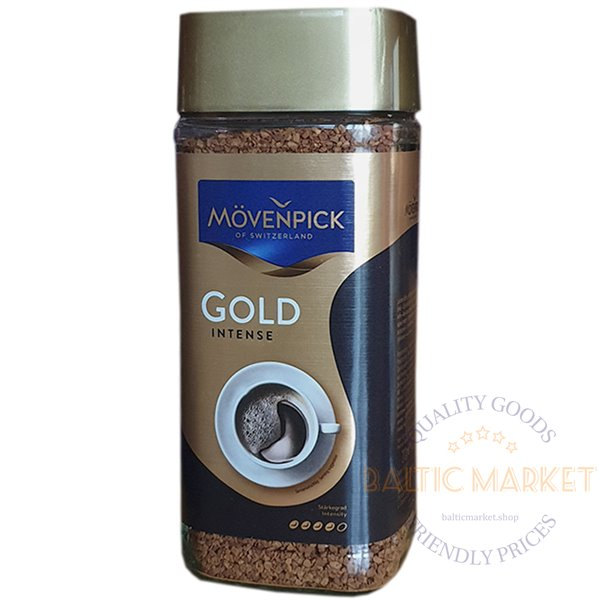 Movenpick Gold intense instant coffee 100 gr