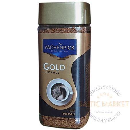Movenpick Gold intense растворимый кофе 100 гр