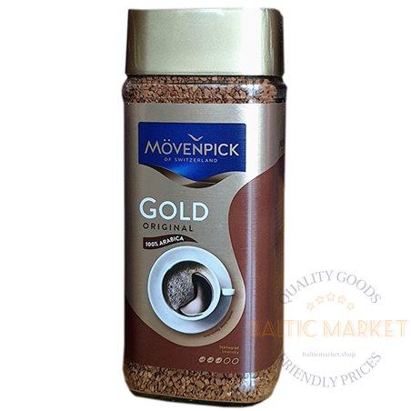 Movenpick Gold original šķīstoša kafija 100 gr